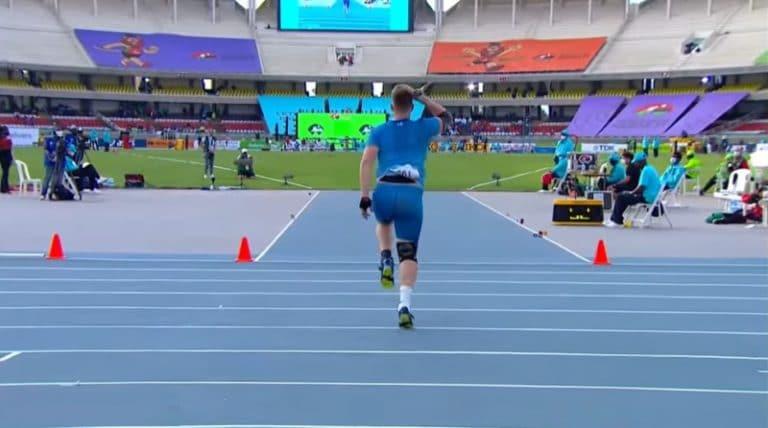 Video: Janne Läspä kiskaisi nuorten MM-kultaa Nairobissa!
