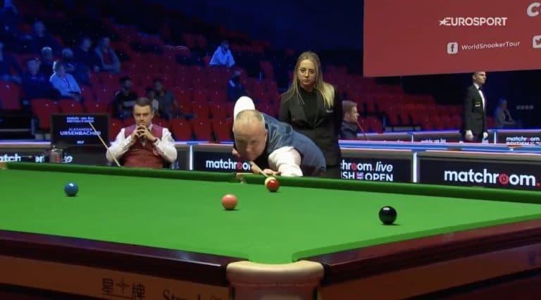 Video: Mahtavaa! John Higgins teki maksimibreikin British Openissa