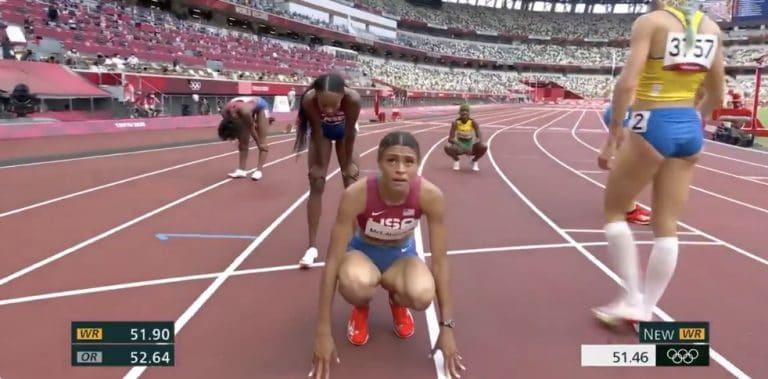 Video: Hurja ME-juoksu! Naisten 400 metrin aitojen olympiafinaalissa käsittämätön taso
