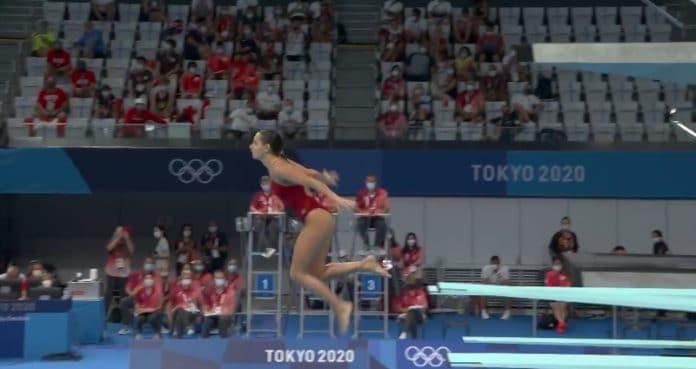 Pamela Ware uimahyppy tokion olympialaiset - pallomeri.net