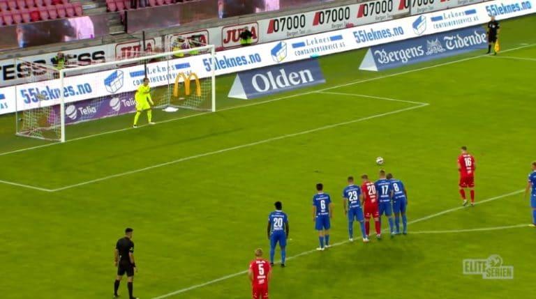 Video: Robert Taylor kisutteli upean rankkarin Norjan Eliteserienissä