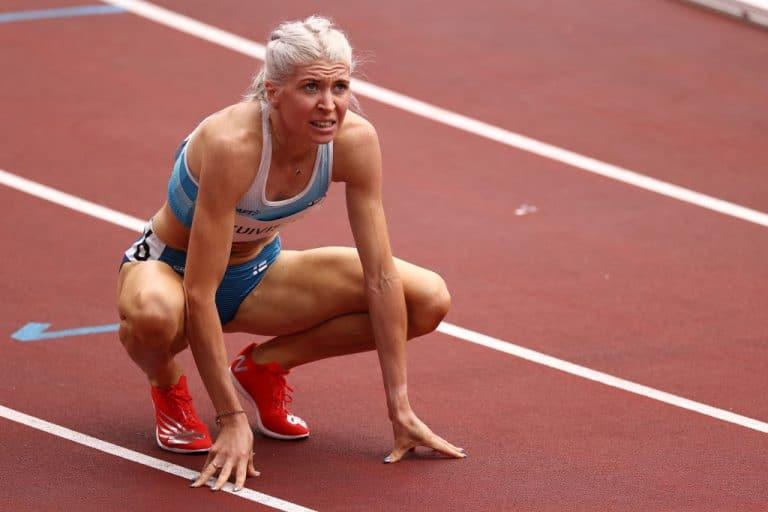Sara Kuivisto on älyttömässä iskussa – juoksi olympialaisissa jo neljännen Suomen ennätyksen