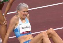 Sara Kuivisto Tokion olympialaisten ennätykset - pallomeri.net