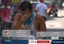 Olympiakävelijä Claudio Villanueva Flores / Pallomeri.net