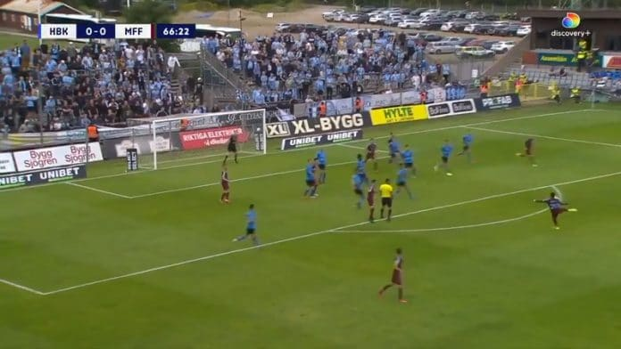 Innocent Bonke Malmö FF / Pallomeri.net
