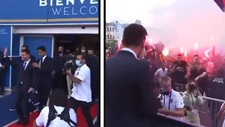 Video: Leo Messi esiteltiin virallisesti PSG:n miehenä – stadionin ulkopuolella huima tunnelma