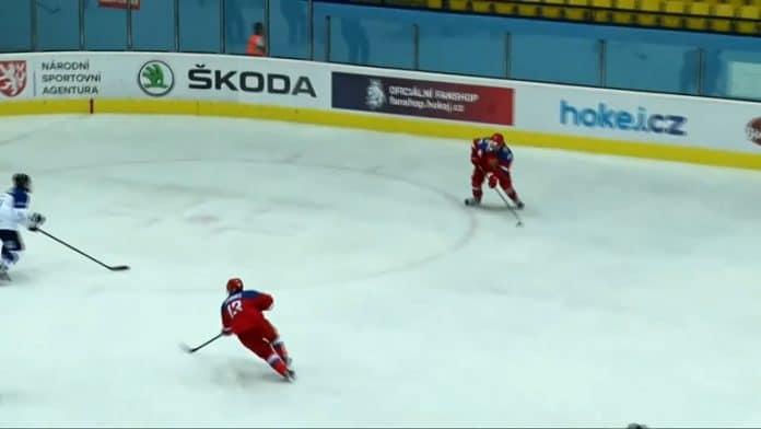 Matvei Michkov Venäjä U18 / Pallomeri.net
