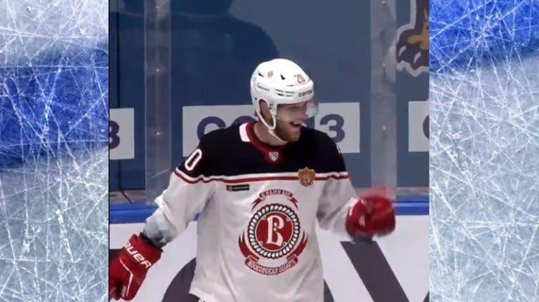 Video: Vitjazin Niko Ojamäki liekitti KHL:ssä – painoi hattutempun seitsemään minuuttiin
