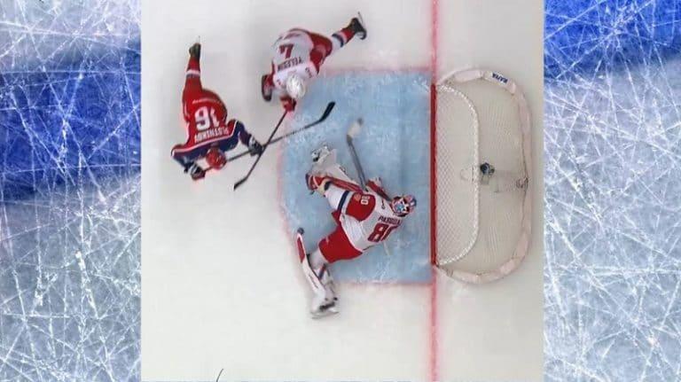 Video: KHL:ssä nähtiin älytön torjunta – Lokomotivin Eddie Pasquale pelasti kiekon viime hetkellä turvaan