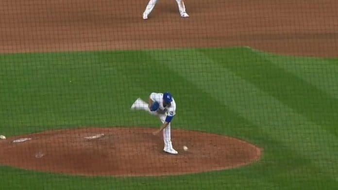 Jake Brentz Kansas City Royals / Pallomeri.net