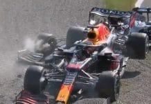 Lewis Hamilton & Max Verstappen kolari Monza 2021 / Pallomeri.net