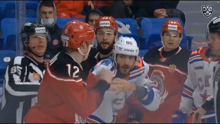 Video: KHL:ssä nähtiin Gordie Howe -hattutemppu – SKA-hyökkääjä tappeli, syötti ja maalasi
