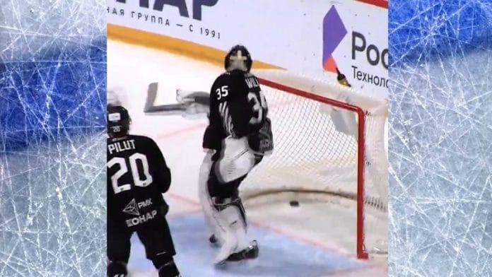 Dinamo Minskin tuurimaali / Pallomeri.net