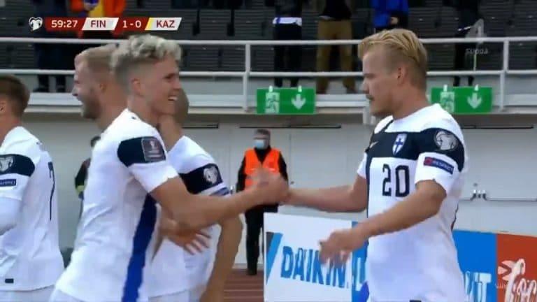 Video: Joel Pohjanpalo puski Kazakstanin kumoon – Huuhkajille elintärkeä voitto MM-karsinnoissa