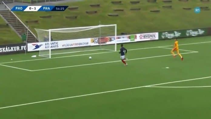 Ranskan U21-veskari Illan Meslier / Pallomeri.net