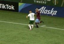Colorado Rapidsin Michael Barrios / Pallomeri.net