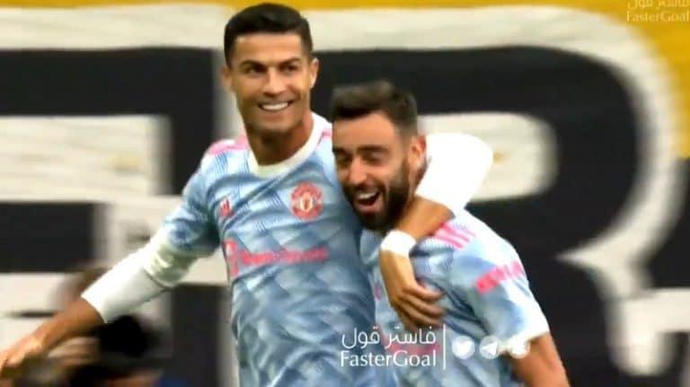 Video: Cristiano Ronaldo UCL-hanat alle vartissa – viimeisteli härskisti Bruno Fernandesin älyttömästä passista