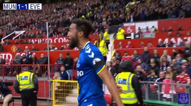 Video: Evertonin Andros Townsend osui Man Unitedia vastaan – juhli Ronaldon tuuletuksen kera