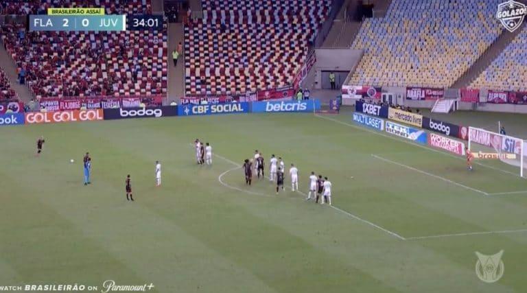 Video: Brasilian Serie A:ssa nähtiin mieletön vapaapotkumaali