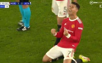 Cristiano Ronaldo UCL Manchester United - pallomeri.net