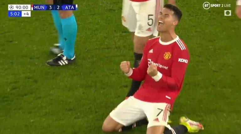 Video: ManU suoritti huiman nousun Mestarien liigassa – Cristiano Ronaldo sinetöi voiton