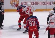 Jori Lehterä tappelu Spartak Moskova CSKA - pallomeri.net