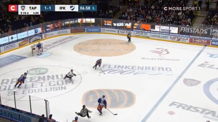 """Video: Jättikakun paikka? – Patrik Virta """"kamppasi"""" tuomarin"""