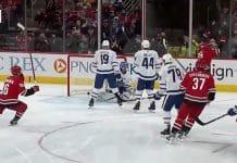 Sebastian Aho Carolina Hurricanes NHL Toronto Maple Leafs - pallomeri.net