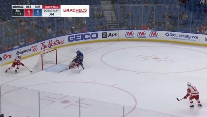Alex Nedeljkovic Detroit Red Wings / Pallomeri.net