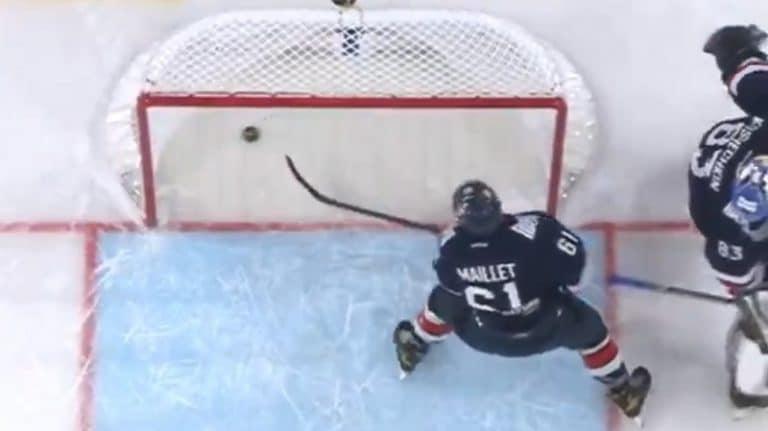 Video: Magnitogorskin pelaaja yllätettiin housut kintuissa – sohi kiekon vahingossa omaan maaliin