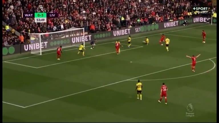 Video: Uskomaton yksilösuoritus – Mo Salah piti Watfordin pakkeja aivan pilkkanaan